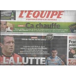 L'EQUIPE n°21852 16/05/2014  Toulon-Racing Metro/ Wilkinson/ Quartaro/ Agnel & Phelps/ Ocaña/ Duparz & Renard