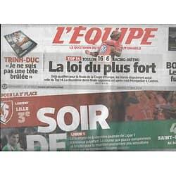 L'EQUIPE n°21853 17/05/2014  Ligue 1, dernière journée/ Roudet/ Toulalan/ Bouhanni/ Demi-finales Top 14/ Marquez