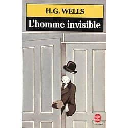"""""""L'homme invisible"""" H.G. Wells/ Très bon état/ Livre poche"""