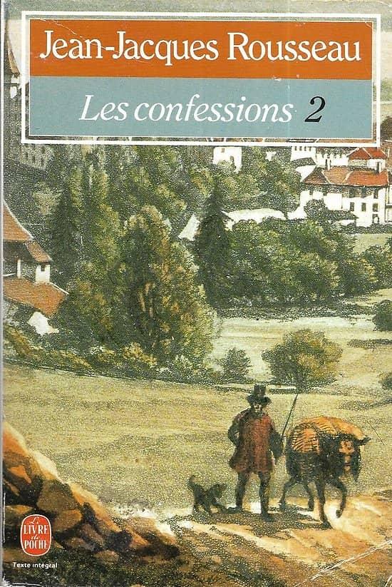 """""""Les Confessions 2"""" Jean-Jacques Rousseau/ Très bon état/ Livre poche"""
