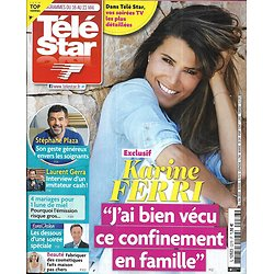 TELE STAR n°2276 16/05/2020  Karine Ferri/ Stéphane Plaza/ Laurent Gerra/ Eurovision/ Tom Hanks/ Tommy Lee Jones
