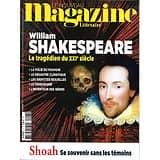 LE NOUVEAU MAGAZINE LITTERAIRE n°27 mars 2020  Shakespeare, le tragédien du XXIè siècle/ Shoah, se souvenir/ Saint-Exupéry/ Pierre Lemaitre/ Réinventer la ville