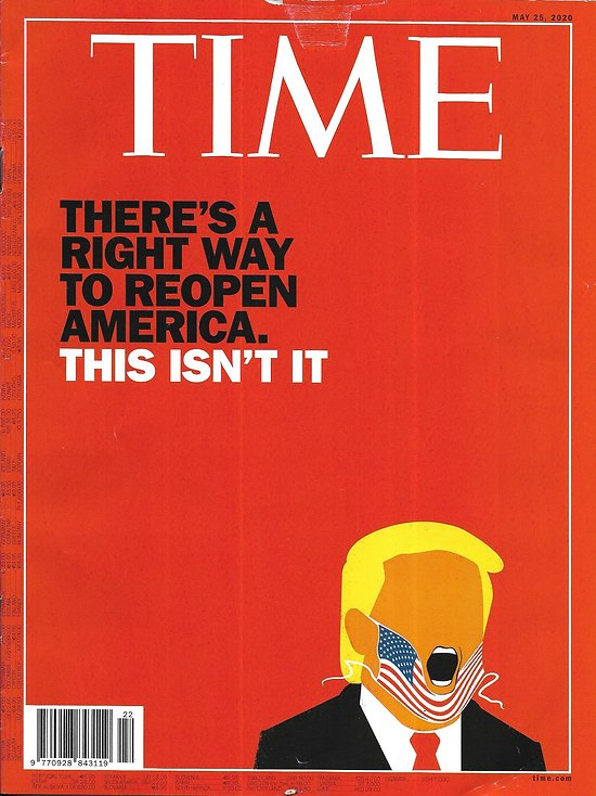 TIME VOL.195 n°19 25/05/2020  Reopening: the American approach/ China's comeback/ Rural risk/ Hillary Clinton
