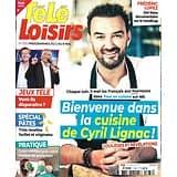 TELE LOISIRS n°1783 02/05/2020  La cuisine de Cyril Lignac/ Eddy Mitchell/ Jeux télé/ Spécial pâtes/ Gérard Oury/ Christophe