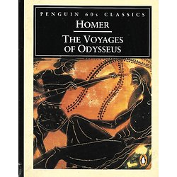 """The Voyages of Odysseus"" Homer/ Penguin 60's Classics/ Mini livre"