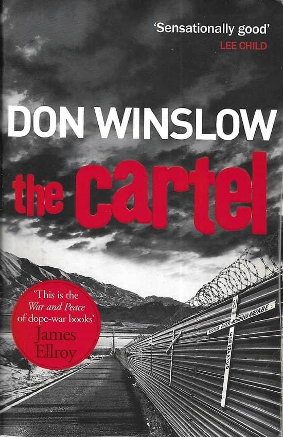 """The Cartel"" Don Winslow/ Bon état/ Livre broché moyen format"