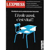 L'EXPRESS n°3593 14/05/2020  Rouverture: l'école c'est vital!/ CGT ou le chaos/ Le drive/ Contamination dans l'air/ Marcel Gauchet/ La tech africaine