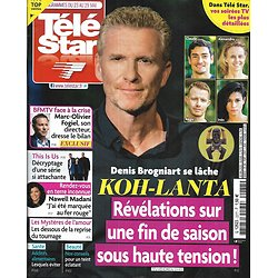 "TELE STAR n°2277 23/05/2020  ""Koh-Lanta"" révélations sur la fin/ Olivier Minne & Sidonie Bonnec/ Nawell Madani/ Marc-Olivier Fogiel/ Omar Sy"