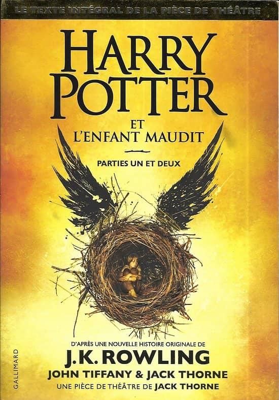 """""""Harry Potter et l'enfant maudit"""" J.K. Rowling/ Très bon état/ Livre grand format"""