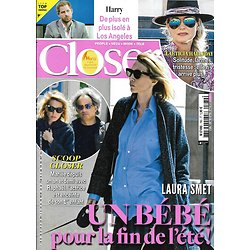 CLOSER n°780 22/05/2020  Laura Smet/ Laeticia Hallyday/ Prince Harry/ Adele/ Chris Evans/ Morgane Enselme