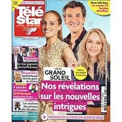 "TELE STAR n°2278 30/05/2020  ""Un si grand soleil"" Fred Bianconi/ Jacques Legros/ Margaux/ Christine Kelly/ Laurent Laffite"