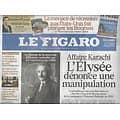 LE FIGARO n°20883 23/09/2011  Affaire Karachi/ Relativité d'Einstein/ Crise/ PDG d'Airbus/ Enfants syriens