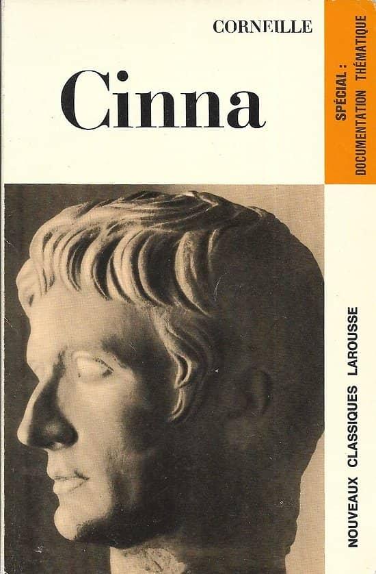 """""""Cinna"""" Corneille/ Très bon état/ Nouveaux Classiques Larousse/ 1971/ Livre poche"""