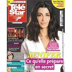 """TELE STAR n°2279 06/06/2020  Jenifer, ce qu'elle prépare en secret/ """"The Voice""""/ Mamans de stars/ Hugh Grant/ Claude """"Koh-Lanta"""""""