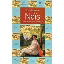 """""""Naïs"""" suivi de """"Pour une nuit d'amour"""" Emile Zola/ Très bon état/ 1996/ Livre broché"""