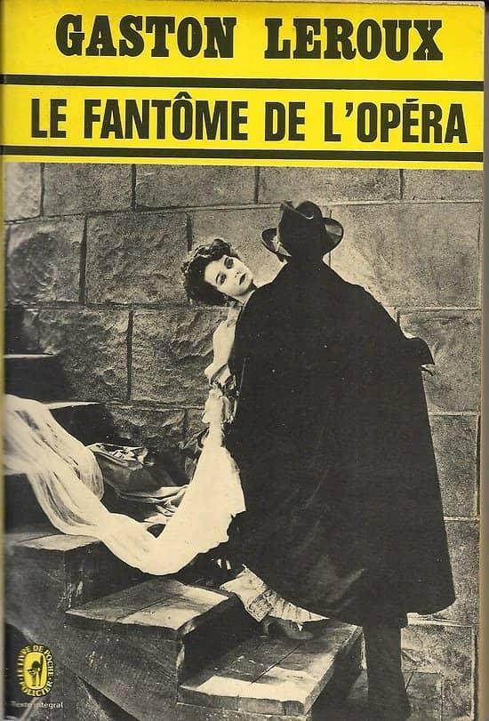 """""""Le Fantôme de l'Opéra"""" Gaston Leroux/ 1979/ Bon état/ Livre poche"""