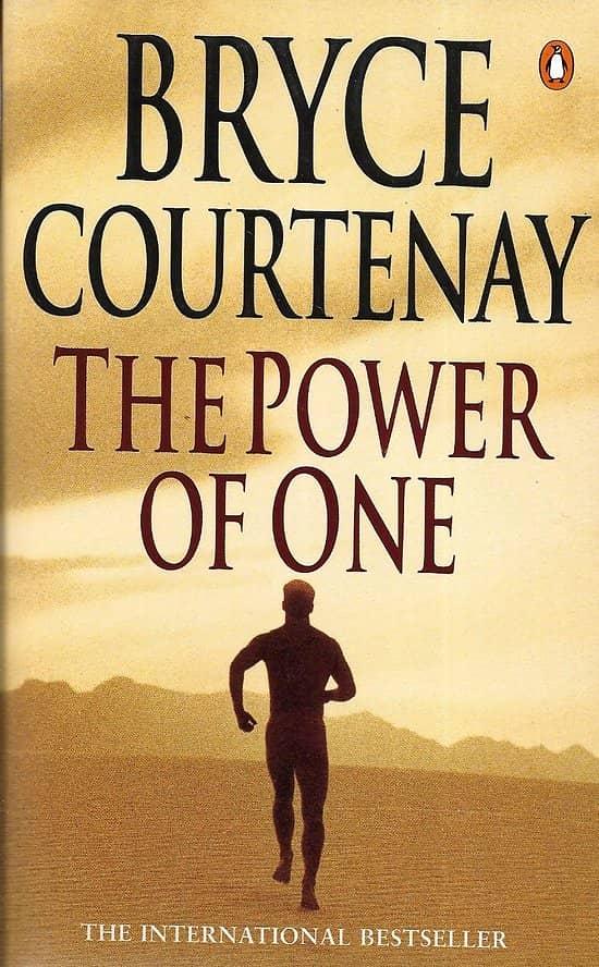 """The Power of One"" Bryce Courtenay/ Excellent état/ 1998/ Livre poche"
