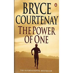 """The Power of One"" Bryce Courtenay/ Excellent état/ 1998/ Livre poche"