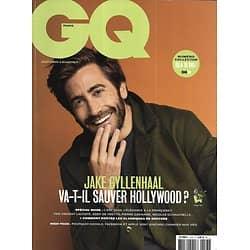 GQ n°123 septembre 2018  Jake Gyllenhaal/ Elégance française/ Spécial Mode/ Wired/ Zuckerberg/ Le monde de demain