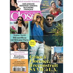 CLOSER n°645 21/10/2017  Patrick Bruel/ Meghan Markle/ Affaire Weinstein/ Miley Cyrus & Liam Hemsworth/ Amir/ Blake Lively/ Fauve Hautot