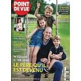 POINT DE VUE n°3749 24/06/2020  William, le père qu'il est devenu/ Sophie de Wessex/ Charles & Camilla reçoivent Macron/ L'histoire déboulonnée