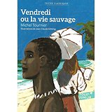 """""""Vendredi ou la vie sauvage"""" Michel Tournier/ Excellent état/ 2017/ Livre poche"""