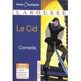 """""""Le Cid"""" Corneille/ Petits Classiques Larousse/ Très bon état/ Livre poche"""