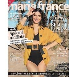 MARIE FRANCE n°220 juillet 2020  Spécial maillots/ Beauté été express/ Mincir sans se priver/ Que révèle votre peau?
