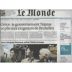 LE MONDE n°21806 25/02/2015  Grèce: retour à la réalité/ HSBC/ Propagande & djihad/ La science russe