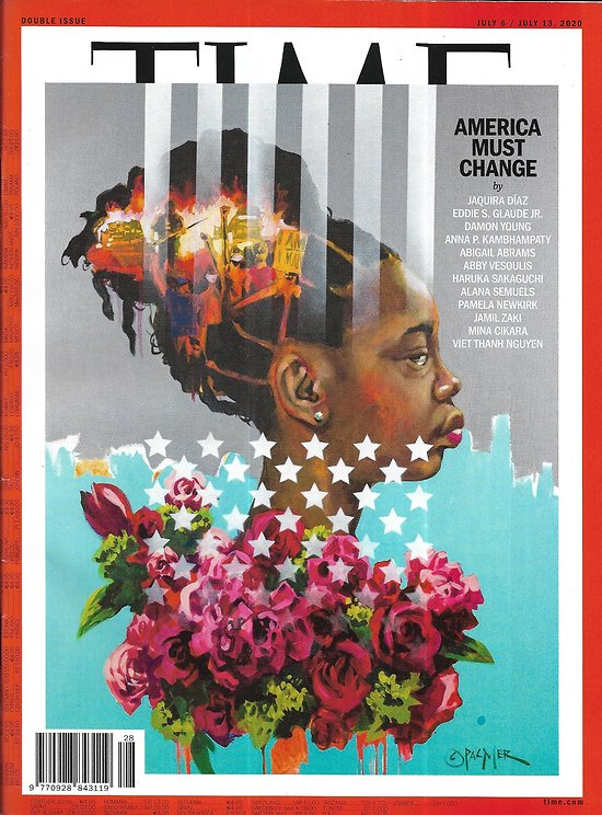 TIME VOL.196 1&2 06/07/2020  America must change/ Inequality/ Black lives Matter/ Fight for democracy/ Europe's recovery