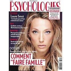 """PSYCHOLOGIES n°380 décembre 2017  Laura Smet/ Comment """"faire famille""""/ Souffrance animale/ Quel amoureux êtes-vous?/ Cultivez votre paix intérieure"""