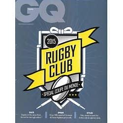 GQ  Spécial Coupe du Monde de Rugby 2015/ Stars/ Idoles/ 1995/ Rugby fans