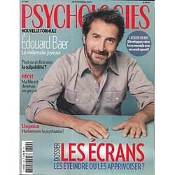PSYCHOLOGIES n°389 septembre 2019  Edouard Baer/ Ecrans: les éteindre ou les apprivoiser?/ En finir avec la culpabilité