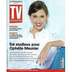 """TV MAGAZINE 26/07/2020 n°1747  Ophélie Meunier/ """"Les copains d'abord""""/ Jeux/ Programmes"""