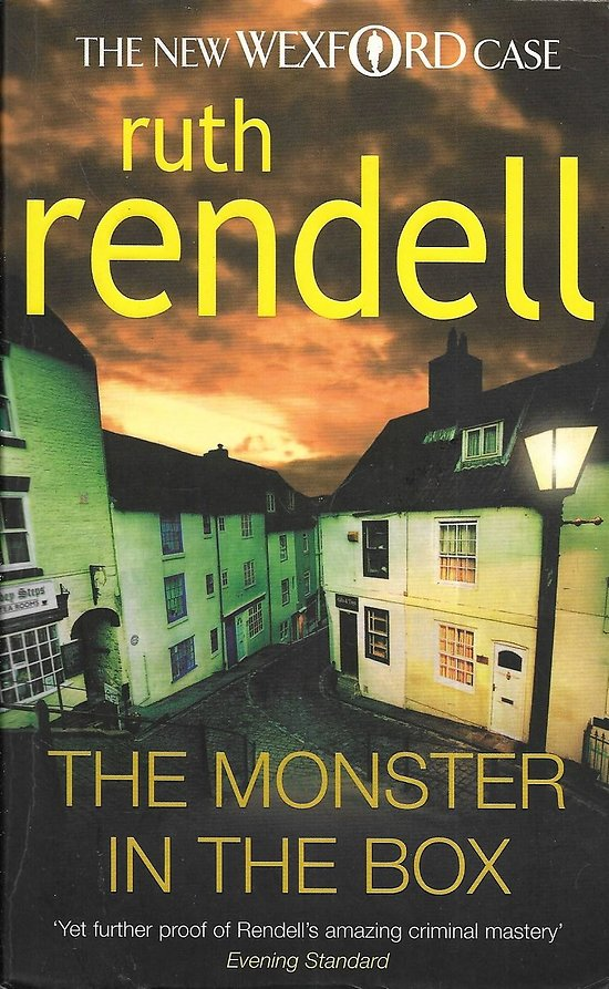 """The monster in the box"" Ruth Rendell/ 2009/ Livre poche"