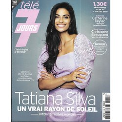 "TELE 7 JOURS n°3139 25/07/2020  Tatiana Silva/ Catherine Ceylac/ Christophe Beaugrand/ ""Beverly Hills""/ ""Reef Break""/ Jonathan Cohen"