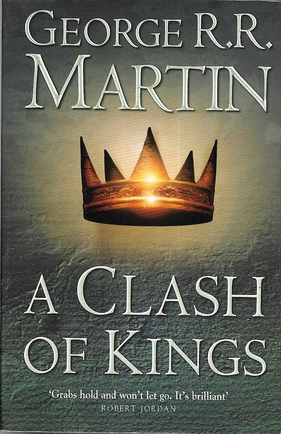 """A Clash of Kings, A Song of Ice and Fire, Book 2"" George R.R. Martin/ Très bon état/ Livre broché moyen format"