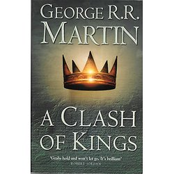 """A Clash of Kings, A Song of Ice and Fire, Book 2"" George R.R. Martin/ Très bon état/ Livre broché moyen format"