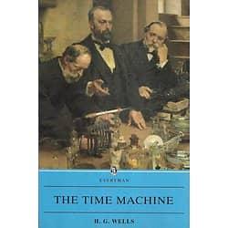 """The Time Machine"" H.G.Wells/ Excellent état/ 1995/ Livre broché moyen format"