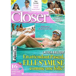 CLOSER n°790 31/07/2020  Laeticia Hallyday/ Marc Lavoine/ Cyril Lignac/ Britney Spears/ Kanye West & Kim Kardashian