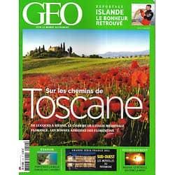 GEO n°412 juin 2013  Sue les chemins de Toscane/ Porto Rico, belle oubliée/ Merveilles du Sud-Ouest