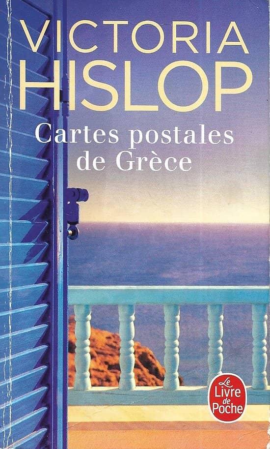 """""""Cartes postales de Grèce"""" Victoria Hislop/ Bon état/ 2018/ Livre poche"""
