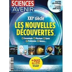 SCIENCES ET AVENIR n°881 juillet-août 2020  XXIè siècle: Les Nouvelles Découvertes/ Les leçons de la crise sanitaire/ Sauver les océans/ Ruée vers Mars