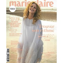MARIE CLAIRE n°816 septembre 2020  Vanessa Paradis/ Trouver son rythme/ Spécial style/ Natalie Wood/ Eveil spirituel/ Filles en van
