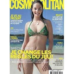 COSMOPOLITAN n°559 juillet 2020  Spécial sexe: je change les règles du jeu/ Je vis au présent/ Les hits beauté de la rentrée/ Roadtrip: Taïwan/ 100% veggie