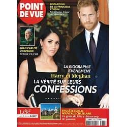 POINT DE VUE n°3756 12/07/2020  Harry & Meghan: la vérité sur leurs confessions/ Les nouveaux châtelains/ Juan Carlos, retour en exil