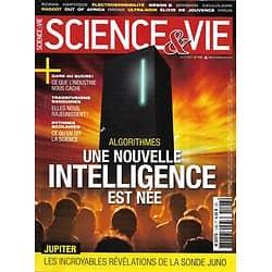 SCIENCE&VIE n°1198 juillet 2017  Algorithmes: une nouvelle intelligence est née/ Révélations sur Jupiter/ Sucre: la grande intox?