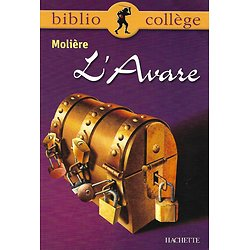 """""""L'Avare"""" Molière/ BiblioCollège/ Hachette/ Très bon état/ Livre poche"""