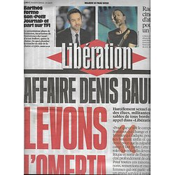 LIBERATION n°10875 10/05/2016  Affaire Baupin/ Radiohead/ Yann Barthès/ Génocide rwandais/ Néonicotinoïdes/ Imarhan