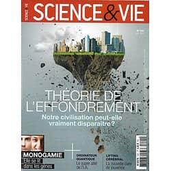 SCIENCE&VIE n°1221 juin 2016  Théorie de l'effondrement/ Monogamie/ OGM: nouvelles techniques/ Lifting cérébral
